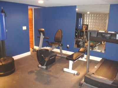 East Hampton villa rental - Fitness Room