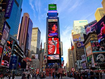Times Square apartment rental - times square building in NY