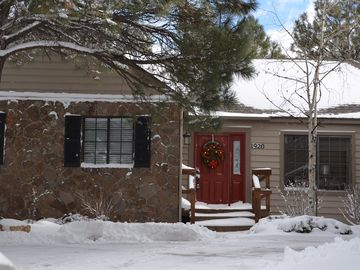 Flagstaff house rental - All ready for the winter holidays