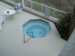 Garden City Beach condo photo - North hot tub