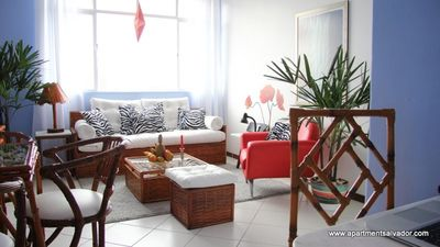 Central apartment for carnival, beach and shopping