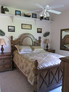 3. Bedroom with queen size bed