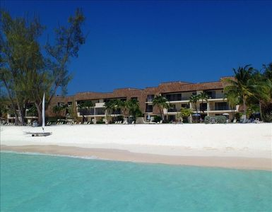Grand Cayman condo rental - The Islands Club viewed from the water!!