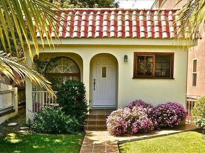 Santa Monica house rental - We're on a quiet street