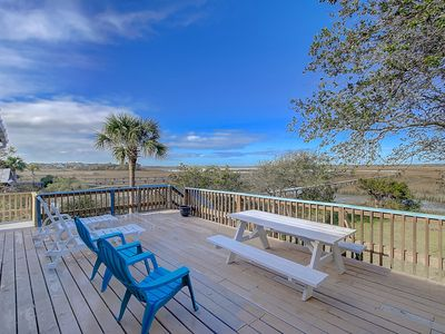 East Ashley Awesome Nd Row Folly Beach Home Private Dock Ocean Views