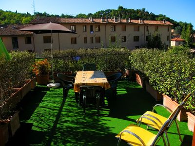 Spoleto apartment rental - Terrazza Verde terrace