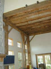 Middletown barn photo - Living room 2nd Floor Ceiling