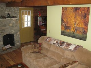 Madison cabin photo - Soft Comfortable sofa in Living Area