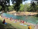You'll be right next to Barton Springs, a giant public swimming area that is 100% spring-fed and natural water! It is the heart of Austin.