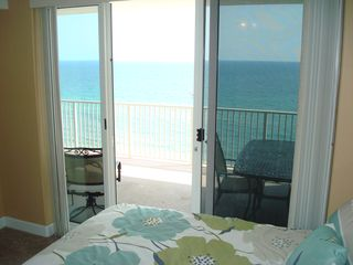 Ocean Reef condo photo - Master bedroom offers its own private access to the balcony and THIS view. WOW!