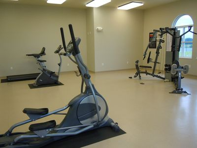 Communal Club House Gym