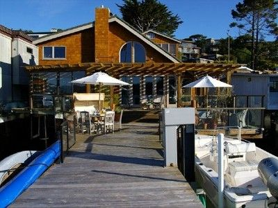 Tiburon house rental - View of the Boathouse