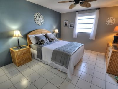 East End condo rental - Private Tranquil Master Bedroom with Ocean View