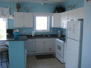 Wildwood Crest condo photo - Fully equipped kitchen with dishwasher, microwave, etc.