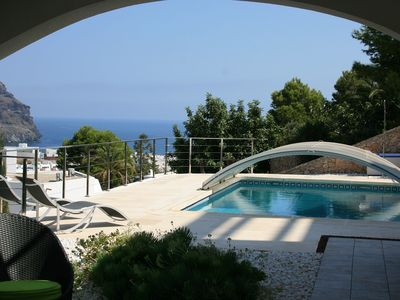 Exclusive apartment in charming villa, wonderful sea views, swimming pool. - Apartment gold, exclusive taste, luxury porch, max 4 people