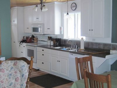 Gaylord chalet rental - A well stocked kitchen