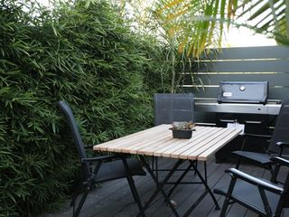 Venice Beach apartment photo - Private deck with gas Bar-B-Que