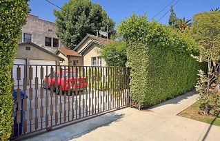 Hollywood house photo - Private gated entrance