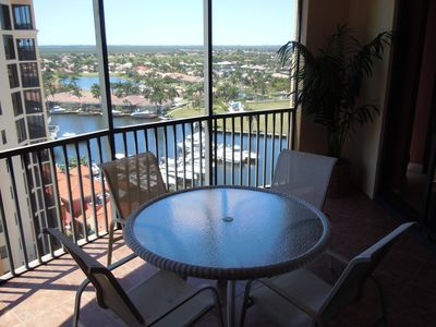 The view from the lanai is wonderful - you have both a Marina View and...