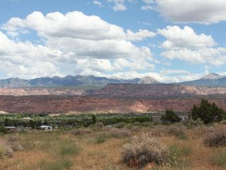Moab house photo - Your view of the La Sals from the front porch