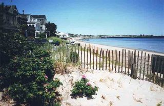 BEAUTIFUL, PANORAMIC WHITE SAND BEACH ACROSS THE STREET - Provincetown condo vacation rental photo