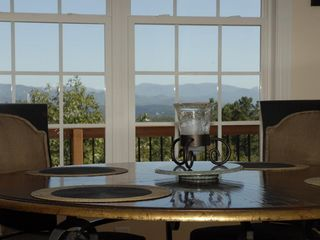 Lake Jocassee house photo - View from kitchen table