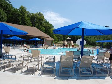 Enjoy a day at the pool this summer at the Homeowners' Club!