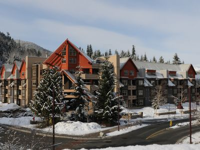 Lake Placid Lodge in Winter
