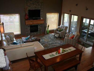 Branson house rental - Large great room
