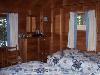 Squam Lake house photo - One of 3 bedrooms that look out to lake
