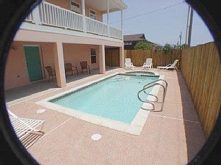 South Padre Island house photo - Heated Pool w/ Spa