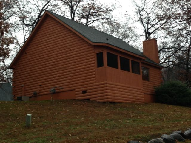 Secluded wisconsin dells cabin vrbo for Cabins in wisconsin dells for rent