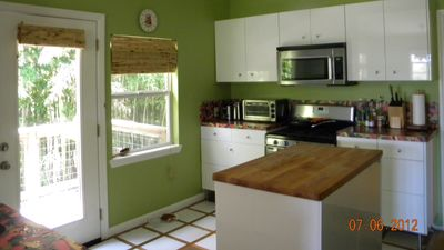 Austin house rental - kitchen