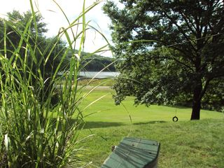 Copake house photo - view from our deck of the pond