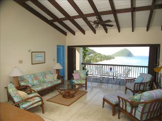 Tortola villa photo - Living room