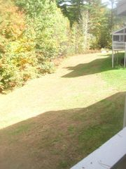 North Conway townhome photo - Backyard area