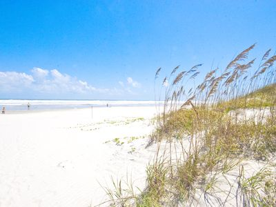 Sink your toes in the white, sandy beach at Nokomis, Florida!