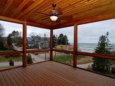 New Buffalo house rental - Screened in porch
