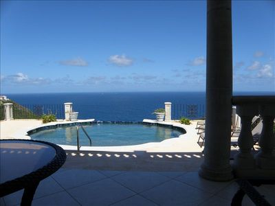 Cap Estate villa rental - Main House with views of the island of Martinique