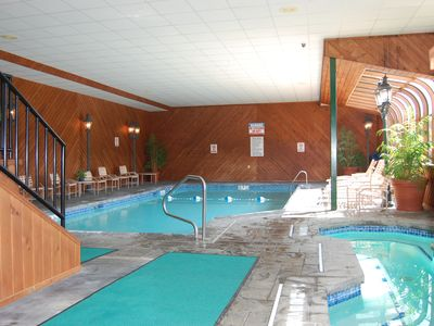 Indoor Pool and Jacuzzi Spa
