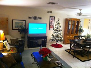 Vacation Homes in Marco Island house photo - Christmas on Marco is paradise. Don't forget to bring the gifts.