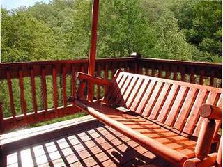 Sevierville cabin photo - Swing your cares away!