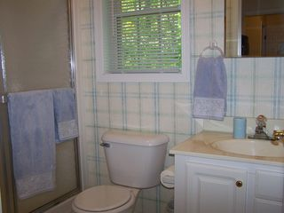 Petoskey condo photo - Private bathroom off the master bedroom.