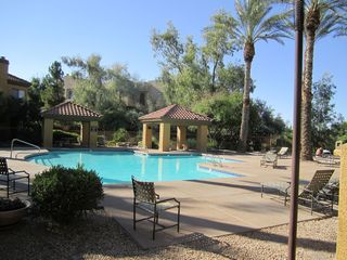 Scottsdale condo photo - Heated Pool and Spa onto golf course