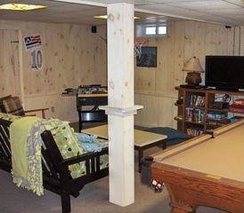 West Dover house photo - Lower Level Gaming Area
