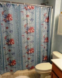Kure Beach condo rental - Hall bath