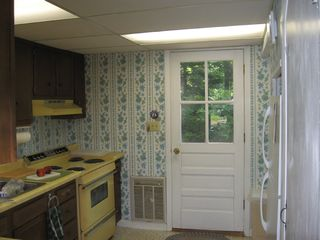 Bayville cottage photo - Kitchen, frost free refrigerator, etc.
