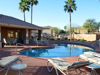 Mesa condo photo - Gated Pool with barbeques, heated pool and hot tub
