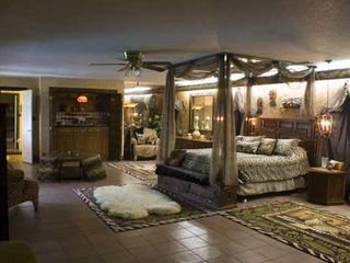 McAllen house photo - Safari Suite has wetbar, fireplace & huge bath.