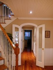 Kiawah Island villa photo - Welcome! Entrance to east side. Heart pine floors and wainscoting greet you.